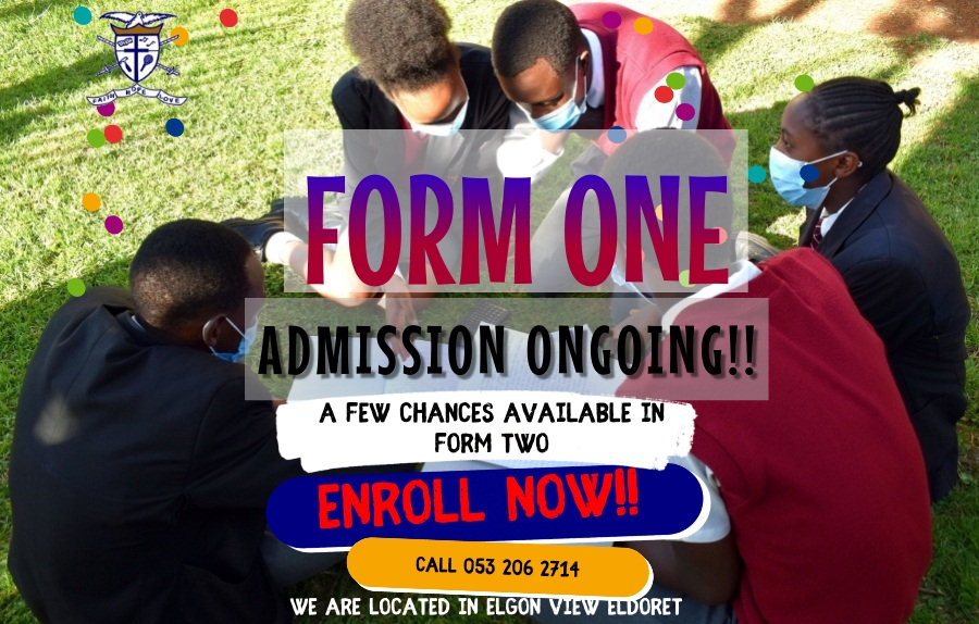 Form one intake poster.